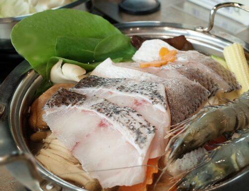 【好食分享】新竹火鍋推薦,媽媽魚百味釜精緻鍋物景觀餐廳,新鮮海鮮/靠近煙波大飯店附近氣氛佳