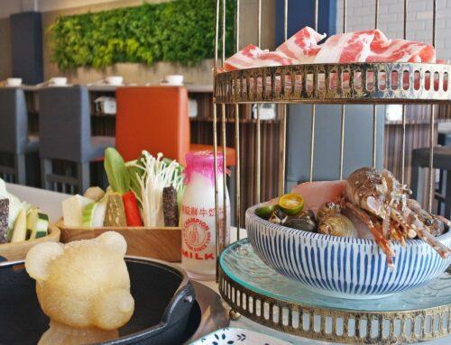 【好食分享】新竹竹北,同樂食鍋,公司聚餐推薦,超可愛的熊熊牛奶鍋vs霸氣龍蝦套餐,你吃過了嗎?