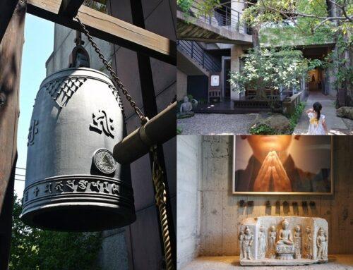 【台中景點】台灣最美廟宇排行之一,清水模建築,喧囂城市中一方清淨,台中大里菩薩寺&維摩舍